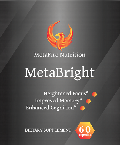 MetaBright - Focus, Memory and Cognitive Support - MetaFire Nutrition