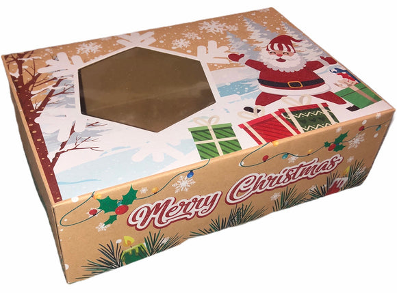 CHRISTMAS GIFT BOX (empty)