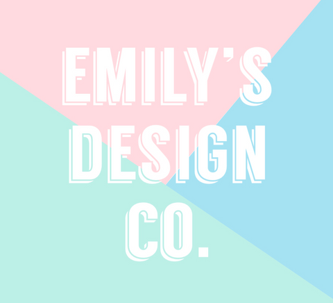 Emilys Design Co logo and Stagedoor Boxes
