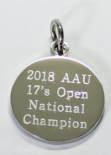 Football Engraved Keychains