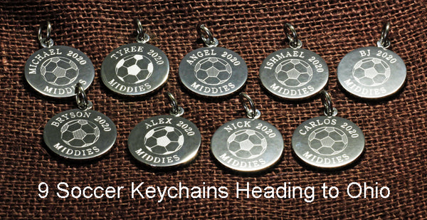Soccer Keychains