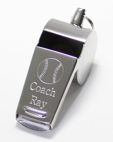 Baseball Whistle - the Perfect engraved Whistle