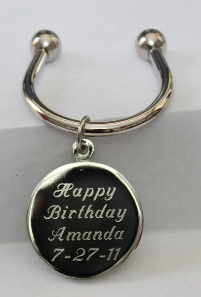 Custom Engraved Keychain