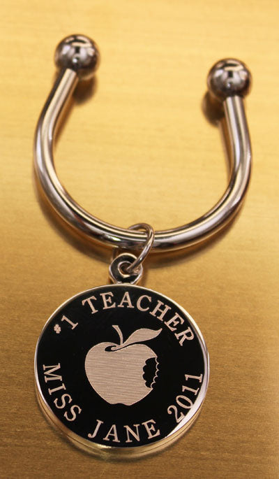 Teacher Engraved Keychains