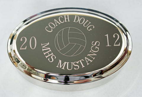 Volleyball Jewelry Box