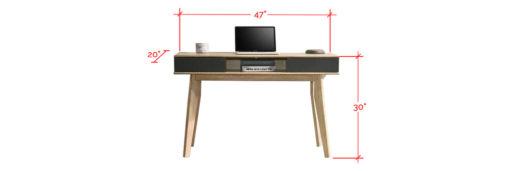 Ayer Series 1 Study Table In Natural