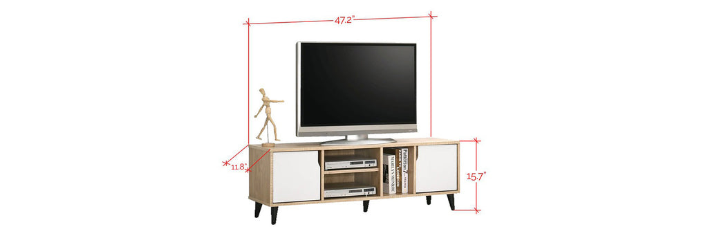 Duisburg 4 Ft. TV Console In Natural