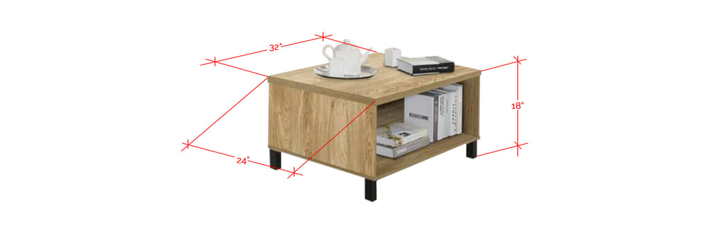 Econ low coffee table