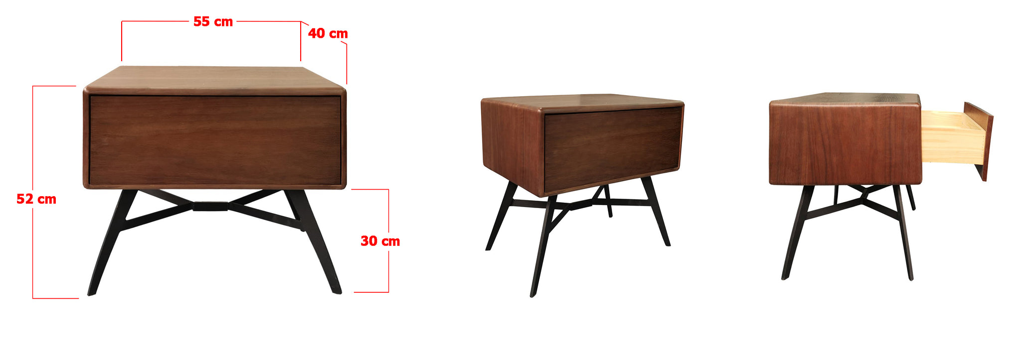 Harry Wooden Side Table