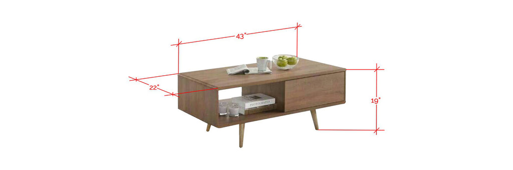Lanvin Brown Coffee Table