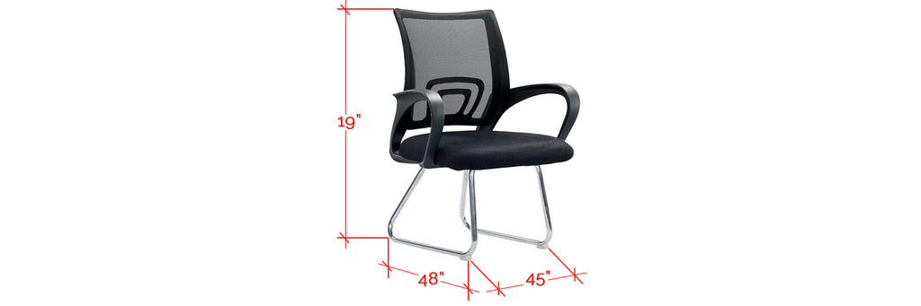 Living Mall Coretta Series Mesh Office Chairs in 5 Designs