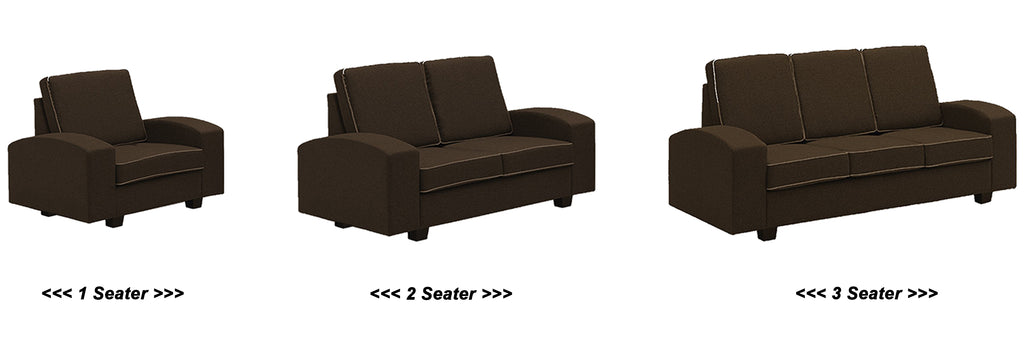 Paige 1/2/3 Seater Fabric Sofa In 3 Colours