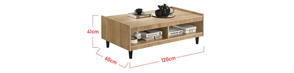 Zahra Series 16 Coffee Table In Natural