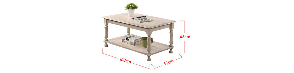 Zahra Series 18 Coffee Table In Natural