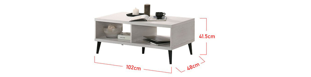 Zahra Series 20 Coffee Table In Natural