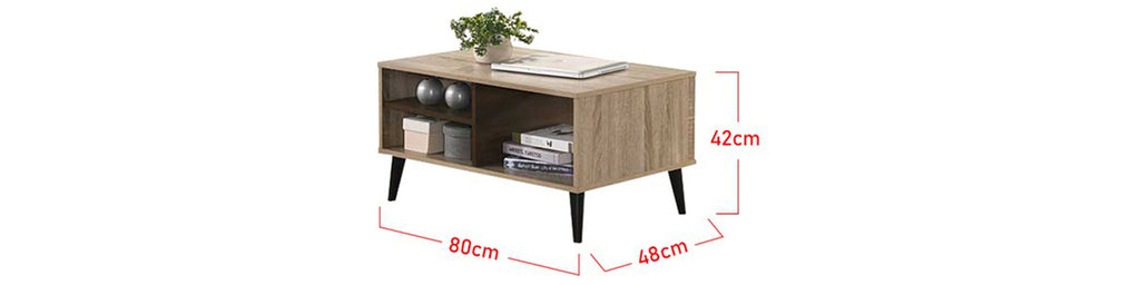 Zahra Series 7 Coffee Table In Natural