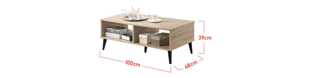 Zahra Series 9 Coffee Table In Natural