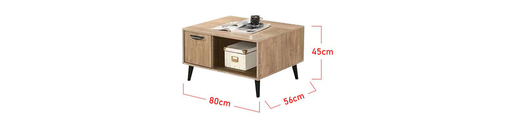 Zahra Series 10 Coffee Table In Natural