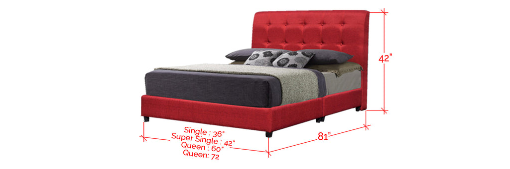 Shivom A Series Leather Divan Bed Frame In Single, Super Single, Queen, and King Size