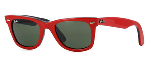 Wayfarer Red - RB 2140 955 Taille 50