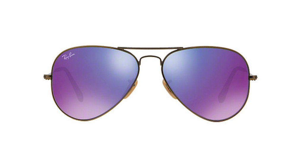 Aviator Flash Mauve - RB3025 Aviator Large 167/1M Taille 58