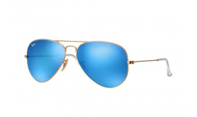 Aviator Flash Bleu - RB 3025 112/17 Taille 58