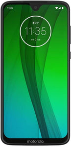 "Motorola Moto G7 (64GB, 4GB RAM) Dual SIM 6.2"" 4G LTE (GSM Only) Factory Unlocked Smartphone International Model XT1962-4 No Warranty (Ceramic Black)"