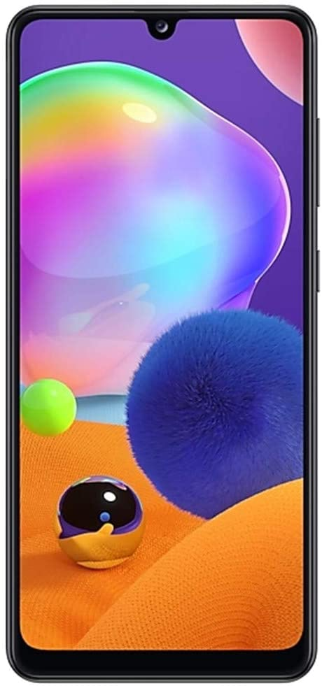 Samsung Galaxy A31-128GB / 4GB - A315G/DSL Unlocked Dual Sim Phone w/Quad Camera 48MP+8MP+5MP+5MP GSM International Version (Prism Crush White)