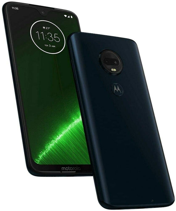 Motorola Moto G7+ Plus (64GB + 64GB SD Bundle) NFC, Dual SIM 6.2