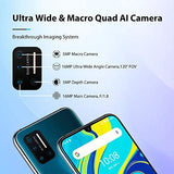 "UMIDIGI A7 Pro Unlocked Cell Phones(4GB+128GB) 6.3"" FHD+ Full Screen, 4150mAh High Capacity Battery Smartphone with 16MP AI Quad Camera, Android 10 and Dual 4G Volte(Cosmic Black)."