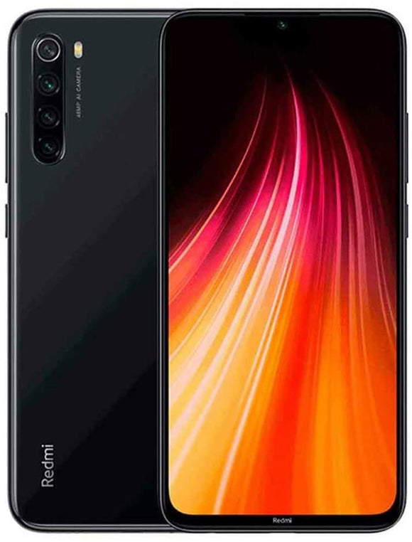 Xiaomi Redmi Note 8 128GB 4GB RAM 48MP Factory Unlocked Global Version Dual SIM Smartphone (Space Black)
