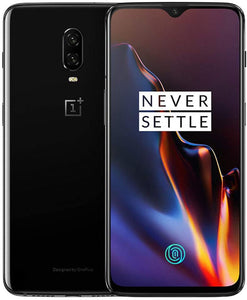 OnePlus 6T A6013 128GB Storage + 8GB Memory T-Mobile and GSM + Verizon Unlocked 6.41 inch AMOLED Display Android 9 - Mirror Black US Version