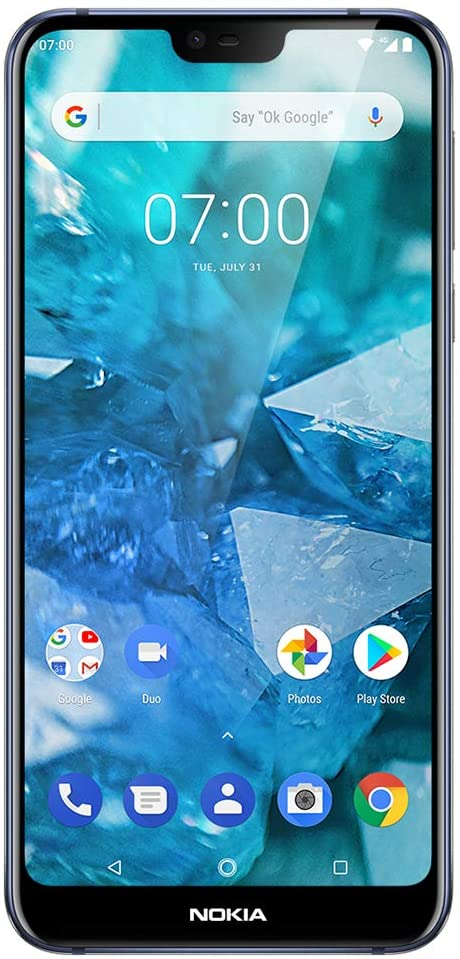 Nokia 7.1 - Android 9.0 Pie - 64 GB - 12+5 MP Dual Camera - Unlocked Smartphone (at&T/T-Mobile/MetroPCS/Cricket/H2O) - 5.84
