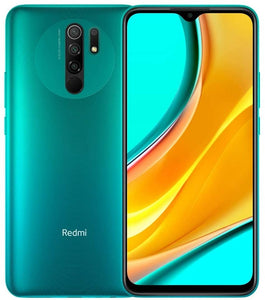 "Xiaomi Redmi 9 Unlocked RAM Dual Sim 32GB 3GB RAM 6.53"" International Global Version (Ocean Green)"