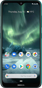 "Nokia 7.2 - Android 9.0 Pie - 128 GB - 48MP Triple Camera - Unlocked Smartphone (AT&T/T-Mobile/MetroPCS/Cricket/Mint) - 6.3"" FHD+ HDR Screen - Charcoal - U.S. Warranty"