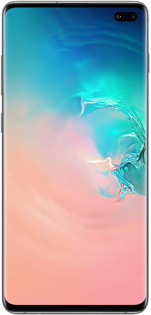 Samsung Galaxy S10 Factory Unlocked Android Cell Phone | US Version | 128GB of Storage | Fingerprint ID and Facial Recognition | Long-Lasting Battery | U.S. Warranty | Prism Black