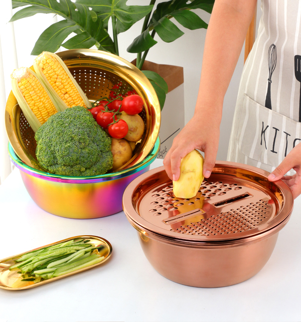 Kál Multipurpose Strainer - 1 | Kitchen Accessories  | Kitchen Utensil Set