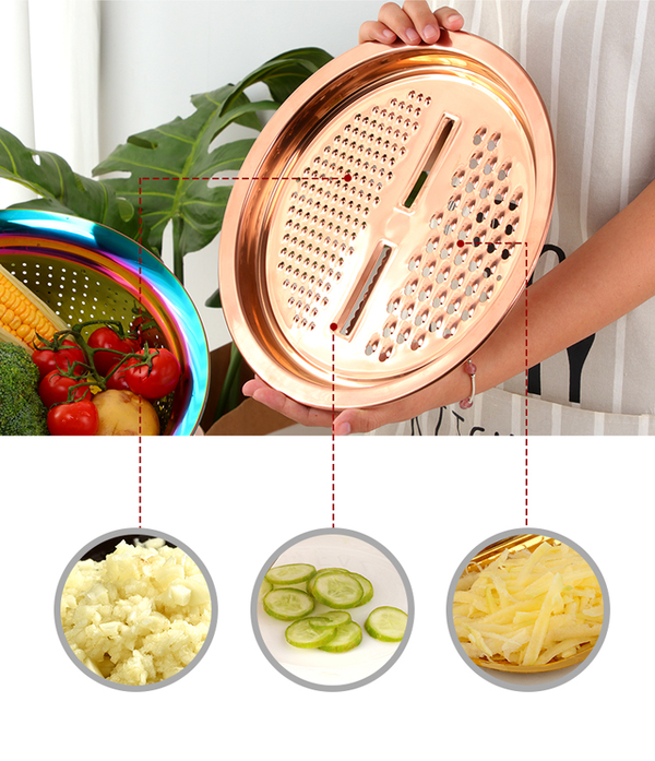 Kál Multipurpose Strainer - 3 | Kitchen Accessories  | Kitchen Utensil Set