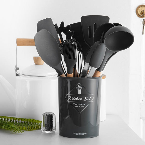 Alarr 12 Piece Cooking Utensils Set - Size 9 | Cookware Utensils | Best Cooking Utensil Set