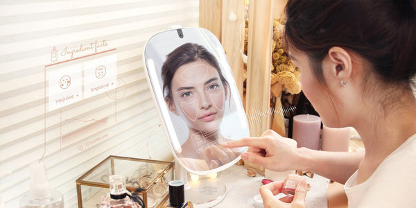 Step up your skincare routine with HiMirrors smart mirror