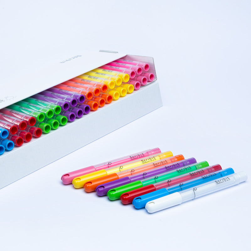Scribit Glass Markers 48st.