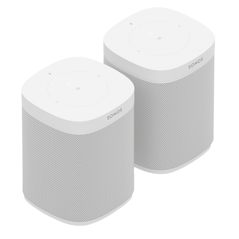 Sonos One White Duo Pack
