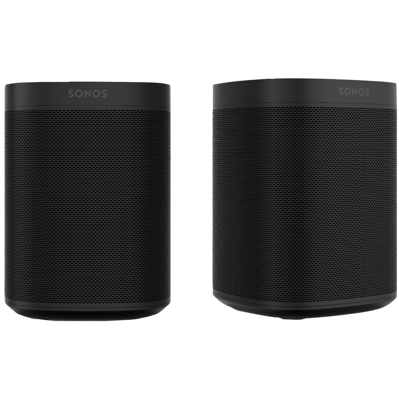 Sonos One Black Duo Pack