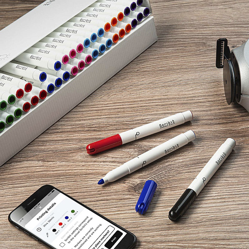 Scribit Whiteboard Markers 48st.