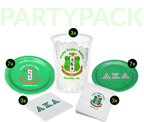 AKA Party Pack - Clear Cups Bundle