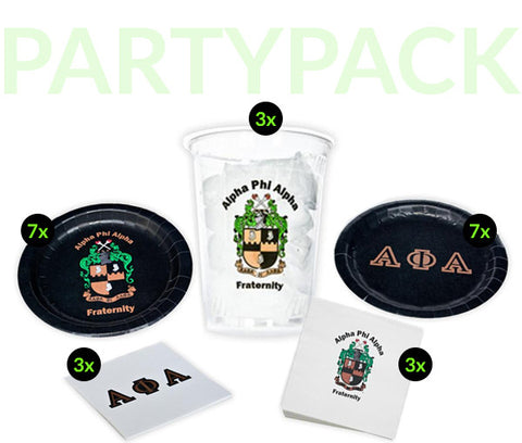 APA Party Pack - Clear Cups Bundle