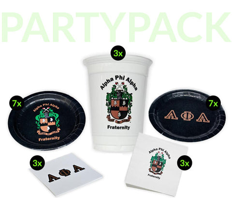 APA Party Pack - White Cups Bundle