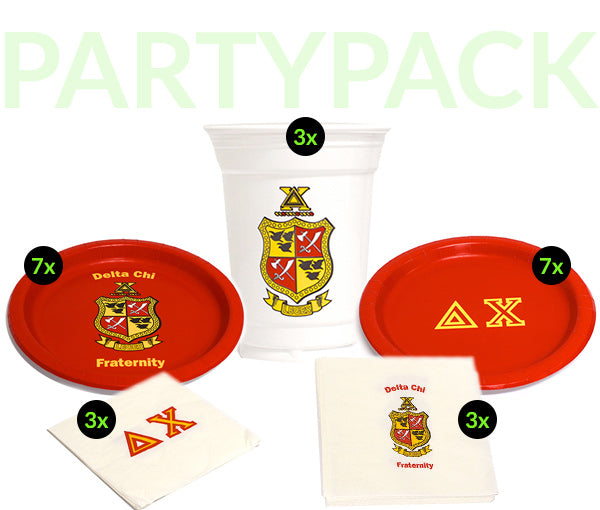 DC Party Pack - White Cups Bundle