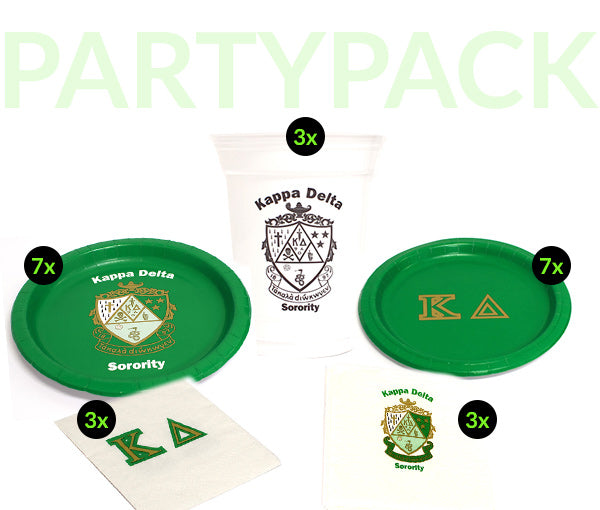 KD Party Pack - White Cups Bundle