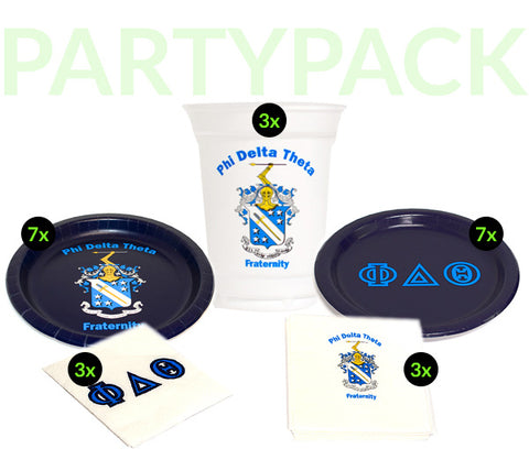 PDT Party Pack - White Cups Bundle